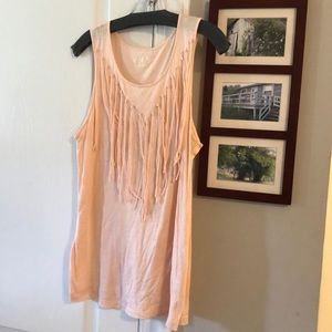 Pale pink Cato tank top
